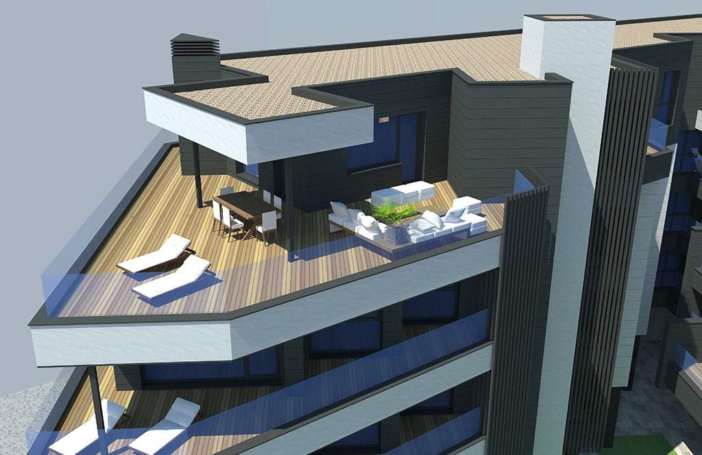 Residencial terrazas del bulevar burgos promociones for Oficina correos logrono